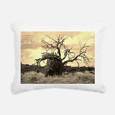 Texas Tree Rectangular Canvas Pillow