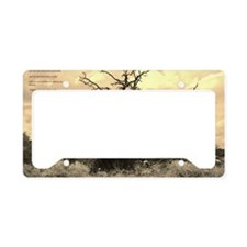 Texas Tree License Plate Holder