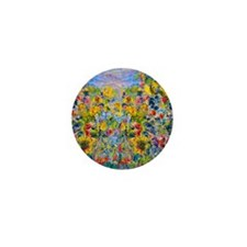 FF Monet FlowerBed2 Mini Button