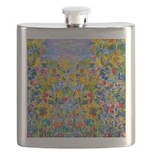 FF Monet FlowerBed2 Flask