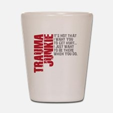 Trauma New DARK Shot Glass