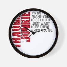 Trauma New DARK Wall Clock