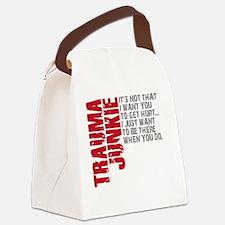 Trauma New DARK Canvas Lunch Bag