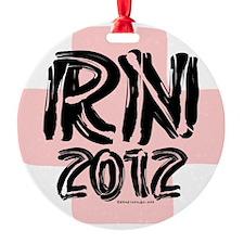 Nurse - RN 2012 3 Ornament
