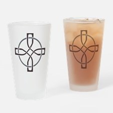 cross without words Drinking Glass
