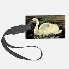 Closer Tile Swan (Silver Grey) Luggage Tag