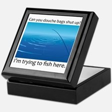 Gone Fishing Keepsake Box