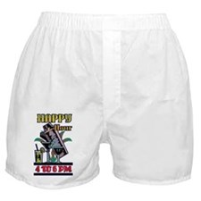 HAPPY-HOUR-SIGN Boxer Shorts