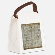 10 Commandments Canvas Lunch Bag