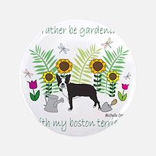 """BostonTerrier 3.5"""" Button"""