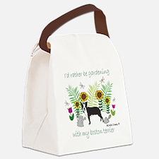 BostonTerrier Canvas Lunch Bag