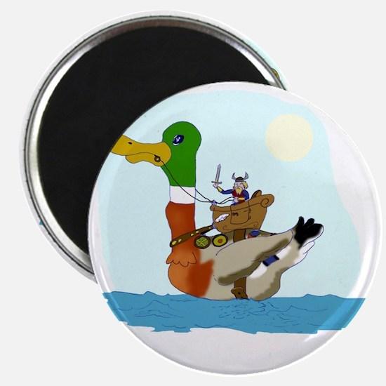 Viking Duck Magnet