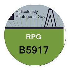 RPGCosplay Round Car Magnet