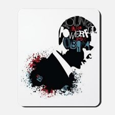 Young and Powerful for Obama Mousepad