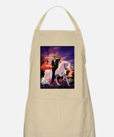 Obama on Unicorn Apron