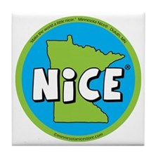 State of Nice_magnet Tile Coaster