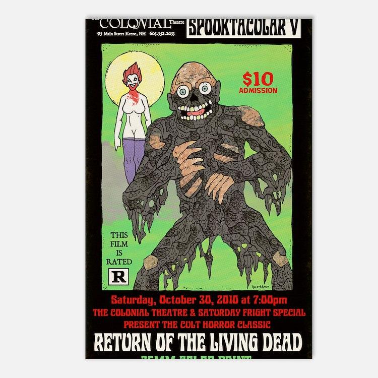 return living dead hartte Postcards (Package of 8)