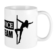 Advance Team SS - On White 10x3 Mug
