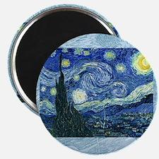 van gogh starry night SC1 Magnet