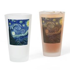 van gogh starry nightSC2 Drinking Glass