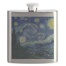 van gogh starry nightSC2 Flask