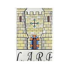 LARP catillo2 Rectangle Magnet
