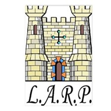 LARP catillo2 Postcards (Package of 8)
