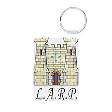 LARP catillo2 Keychains