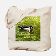 Beautiful Wood Duck Drake Tote Bag