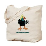 Athletic Chicken Tote Bag