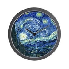 van gogh starry nightOriginal Wall Clock
