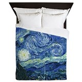 Van gogh starry night queen Queen Duvet Covers