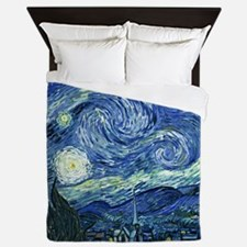 van gogh starry nightOriginal Queen Duvet