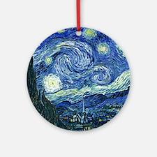 van gogh starry nightOriginal Round Ornament