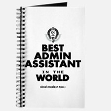 The Best in the World – Admin Assistant Journal