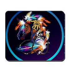 Circle Bright Horse Mousepad