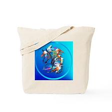 Circle Bright Horse2 Tote Bag