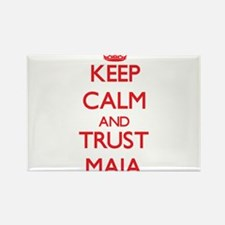 Keep Calm and TRUST Maia Magnets