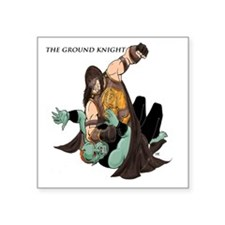 "Ground Knight Square Sticker 3"" x 3"""