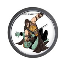 Ground Knight Wall Clock