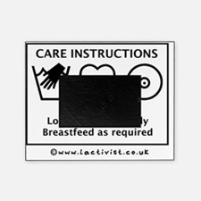 Care Instructions, Hand Wash Only, L Picture Frame
