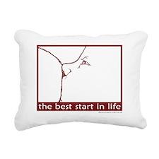 redbeststart Rectangular Canvas Pillow