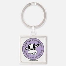 I like milk from my mum, not from  Square Keychain