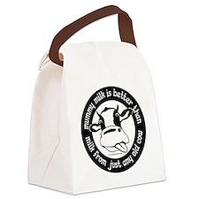 Mummy Milk is Better than Milk fr Canvas Lunch Bag