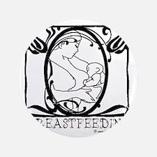 "Breastfeeding Picture 3.5"" Button"