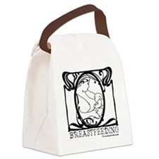 Breastfeeding Picture Canvas Lunch Bag