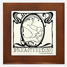 Breastfeeding Picture Framed Tile