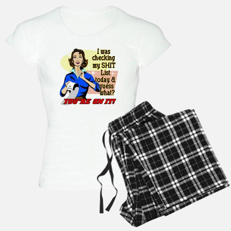 ON-MY-SHIT-LIST Pajamas