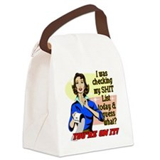 ON-MY-SHIT-LIST Canvas Lunch Bag