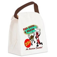 RED-HOTS-AND-BEANS-AM-FVRT Canvas Lunch Bag